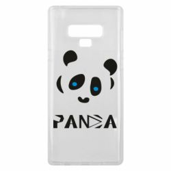Чохол для Samsung Note 9 Panda blue eyes