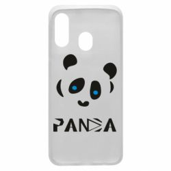 Чохол для Samsung A40 Panda blue eyes