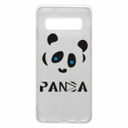 Чохол для Samsung S10 Panda blue eyes
