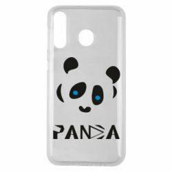 Чохол для Samsung M30 Panda blue eyes
