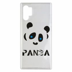 Чохол для Samsung Note 10 Plus Panda blue eyes