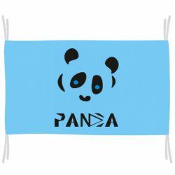 Прапор Panda blue eyes