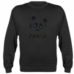 Реглан (світшот) Panda blue eyes