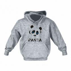 Дитяча толстовка Panda blue eyes
