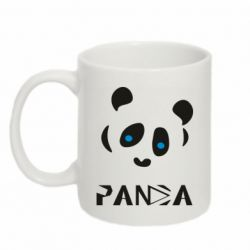 Кружка 320ml Panda blue eyes