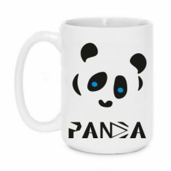 Кружка 420ml Panda blue eyes