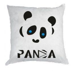 Подушка Panda blue eyes
