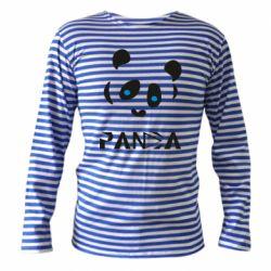 Тільник з довгим рукавом Panda blue eyes