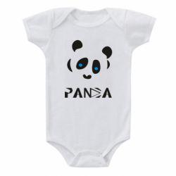 Дитячий бодік Panda blue eyes