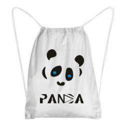 Рюкзак-мішок Panda blue eyes