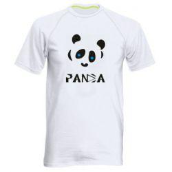 Чоловіча спортивна футболка Panda blue eyes
