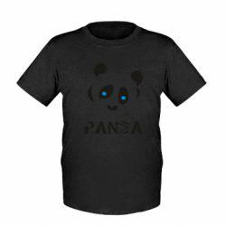 Дитяча футболка Panda blue eyes