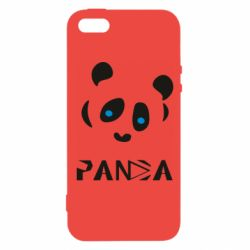 Чохол для iphone 5/5S/SE Panda blue eyes