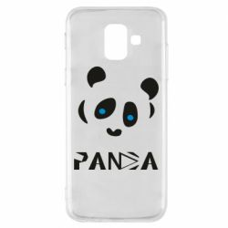 Чохол для Samsung A6 2018 Panda blue eyes