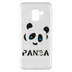 Чохол для Samsung A8 2018 Panda blue eyes