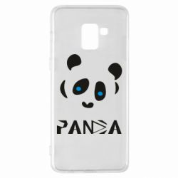 Чохол для Samsung A8+ 2018 Panda blue eyes