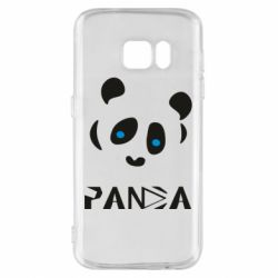 Чохол для Samsung S7 Panda blue eyes