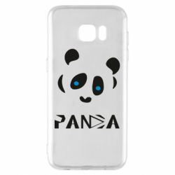 Чохол для Samsung S7 EDGE Panda blue eyes