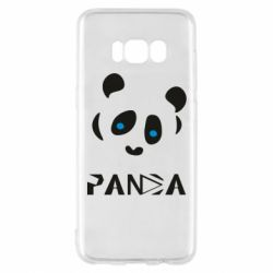 Чохол для Samsung S8 Panda blue eyes