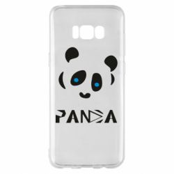 Чохол для Samsung S8+ Panda blue eyes