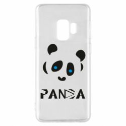 Чохол для Samsung S9 Panda blue eyes