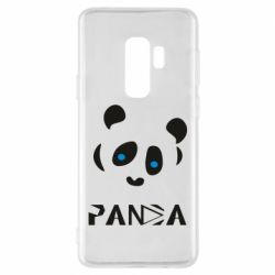 Чохол для Samsung S9+ Panda blue eyes