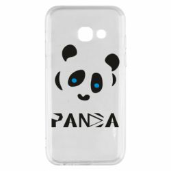 Чохол для Samsung A3 2017 Panda blue eyes