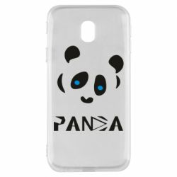 Чохол для Samsung J3 2017 Panda blue eyes