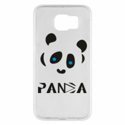 Чохол для Samsung S6 Panda blue eyes