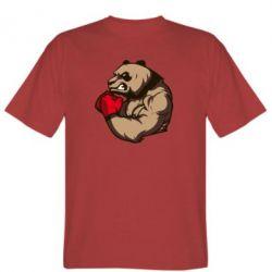 Мужская футболка Panda Boxing - FatLine