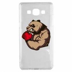 Чехол для Samsung A5 2015 Panda Boxing