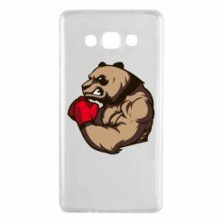 Чехол для Samsung A7 2015 Panda Boxing