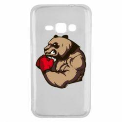 Чехол для Samsung J1 2016 Panda Boxing