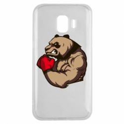 Чехол для Samsung J2 2018 Panda Boxing