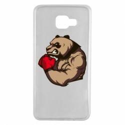 Чехол для Samsung A7 2016 Panda Boxing