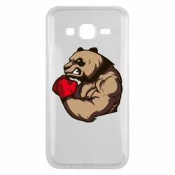 Чехол для Samsung J5 2015 Panda Boxing