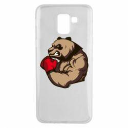 Чехол для Samsung J6 Panda Boxing