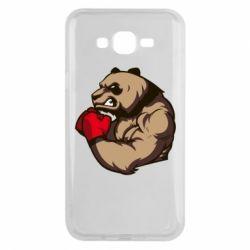 Чехол для Samsung J7 2015 Panda Boxing
