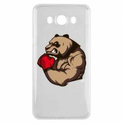 Чехол для Samsung J7 2016 Panda Boxing
