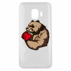 Чехол для Samsung J2 Core Panda Boxing