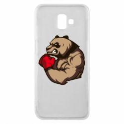 Чехол для Samsung J6 Plus 2018 Panda Boxing