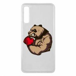 Чехол для Samsung A7 2018 Panda Boxing