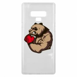 Чехол для Samsung Note 9 Panda Boxing