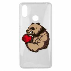 Чехол для Xiaomi Mi Max 3 Panda Boxing