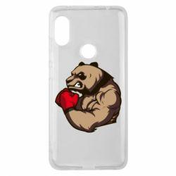 Чехол для Xiaomi Redmi Note 6 Pro Panda Boxing