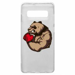 Чехол для Samsung S10+ Panda Boxing