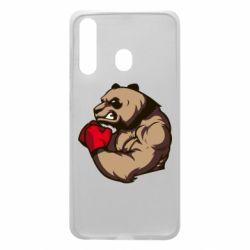 Чехол для Samsung A60 Panda Boxing