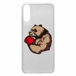 Чехол для Samsung A70 Panda Boxing