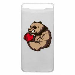 Чехол для Samsung A80 Panda Boxing