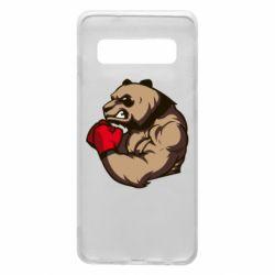 Чехол для Samsung S10 Panda Boxing